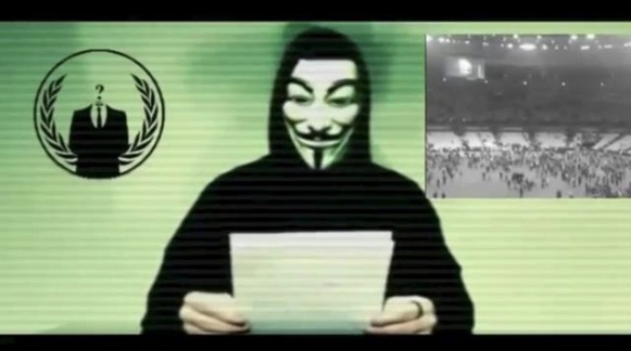 Anonymous tegen IS